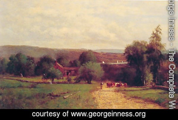 George Inness - Spring