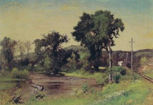 George Inness - Pompton Junction