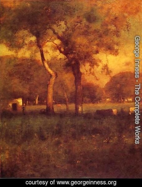 George Inness - California