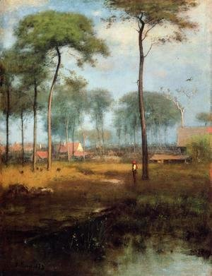 George Inness - Early Morning  Tarpon Springs
