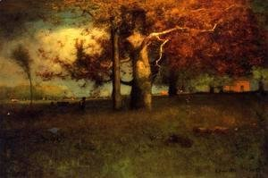 George Inness - Early Autumn  Montclair
