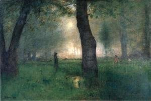 George Inness - The Trout Brook
