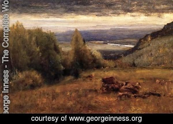 George Inness - From The Sawangunk Mountains