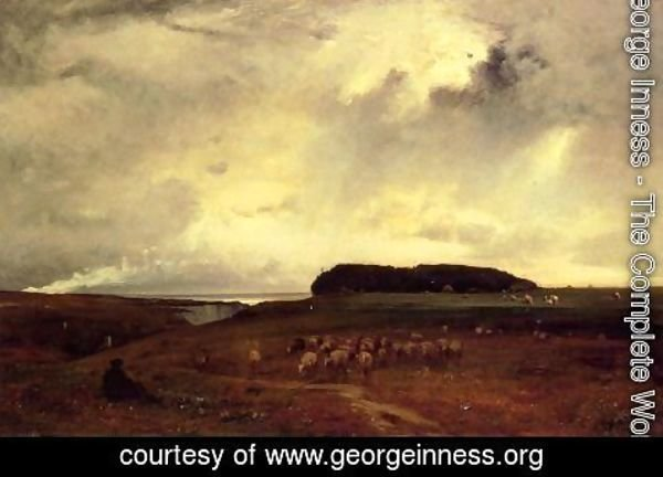 George Inness - The Storm