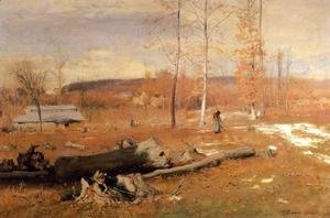 George Inness - Winter Morning  Montclair