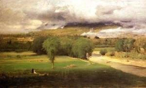 George Inness - Sacco Ford  Conway Meadows