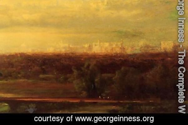 George Inness - Visionary Landscape