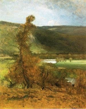 George Inness - North Conway  White Horse Ledge