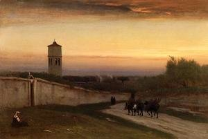 George Inness - Twilight