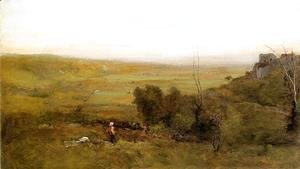 George Inness - The Valley