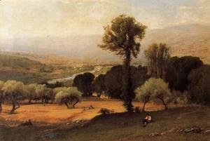George Inness - The Perugian Valley