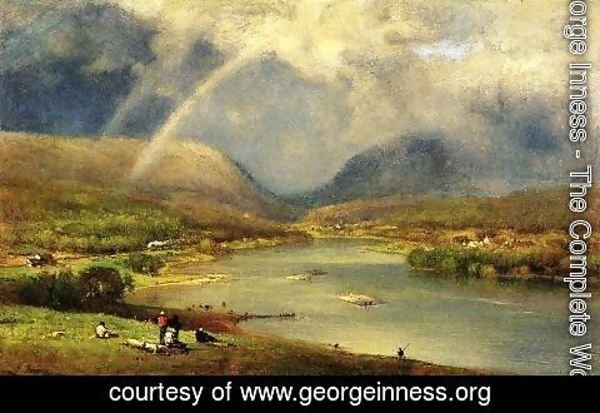 George Inness - The Delaware Water Gap