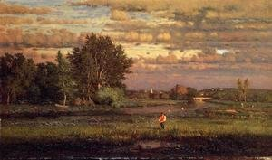 George Inness - Clearing Up