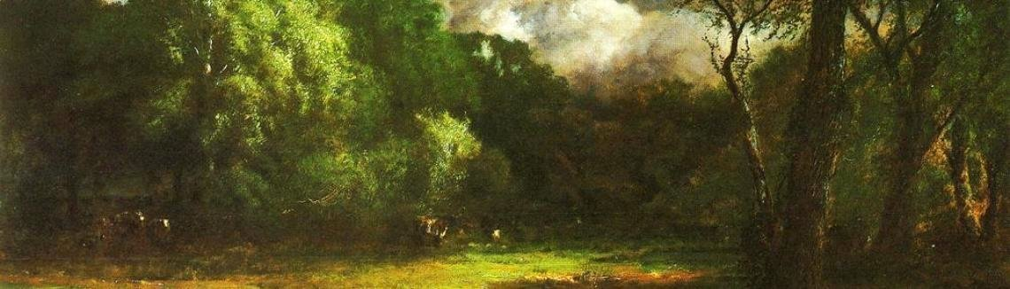 George Inness - Medfield  Massachusetts