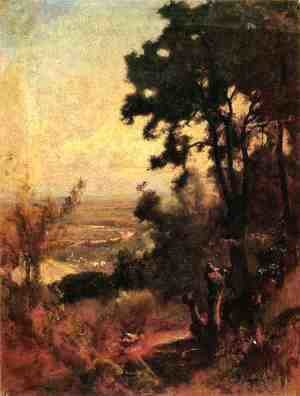 George Inness - Valley Near Perugia