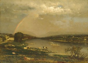 George Inness - Delaware Water Gap