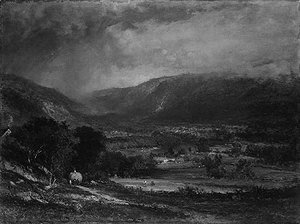 George Inness - The Delaware Valley