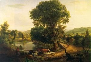 George Inness - Afternoon  1846