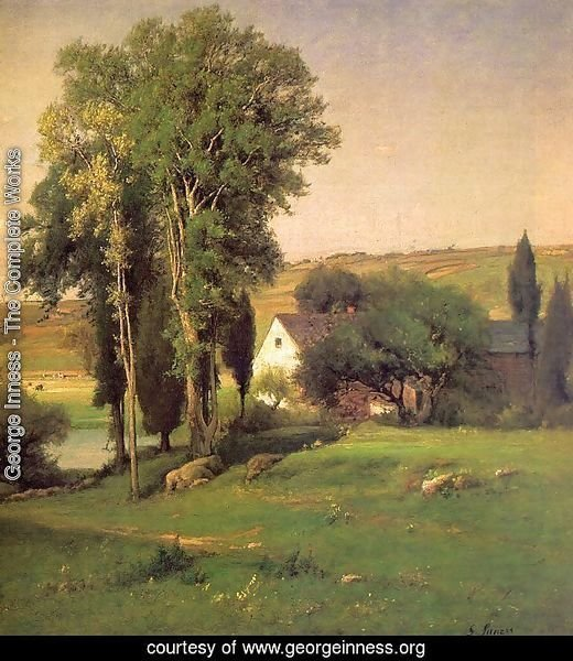 Old Homestead  (detail) 1877